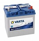 Аккумулятор Varta Blue Dinamic D47 60Ah 540A о.п. (-+)